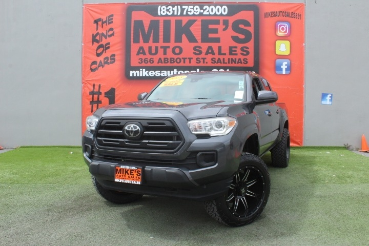 Used 2018 Toyota Tacoma SR Double Cab 5 Bed I4 4x2 AT in Salinas, CA