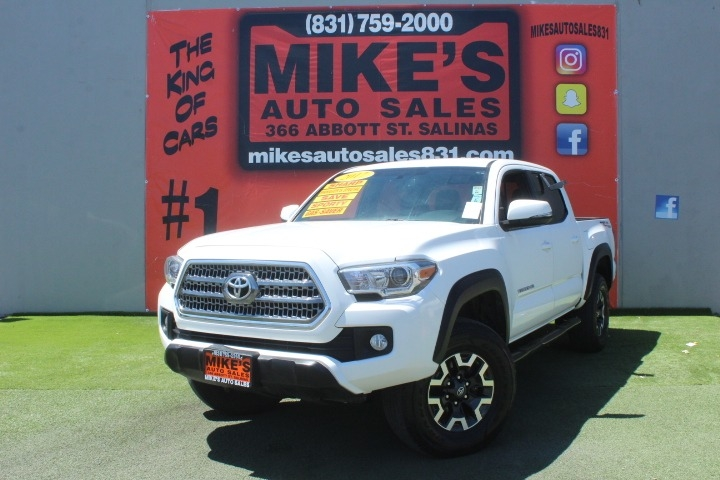 Used 2017 Toyota Tacoma SR5 Double Cab 5 Bed V6 4x2 AT in Salinas, CA