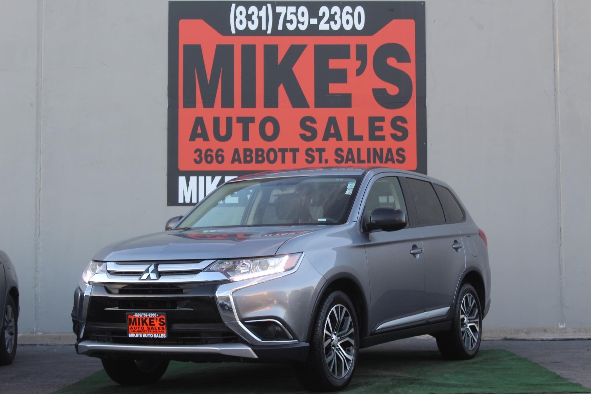 Used 2018 Mitsubishi Outlander ES AWC in Salinas, CA