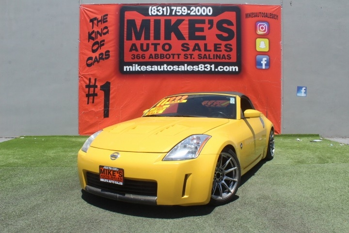 Used 2005 Nissan 350Z 2dr Roadster Touring Auto in Salinas, CA