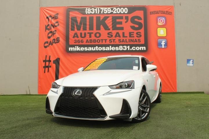 Used 2017 Lexus IS IS Turbo RWD in Salinas, CA