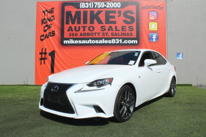 Used 2016 Lexus IS 200t 4dr Sdn in Salinas, CA