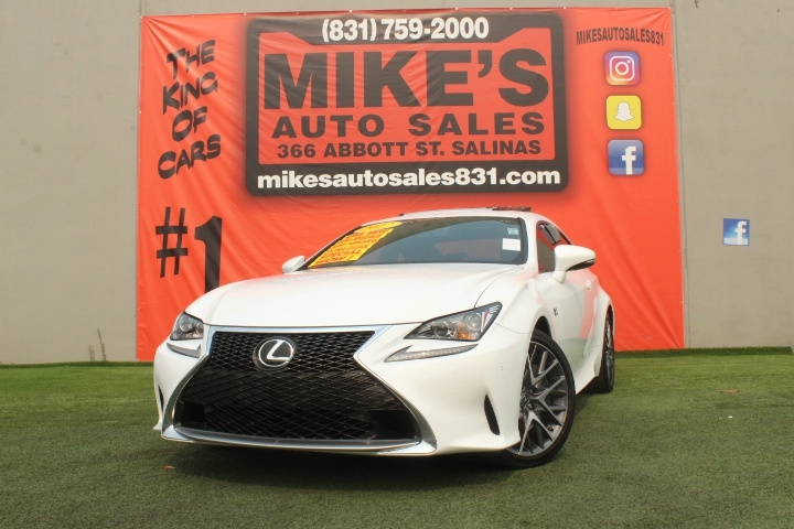 Used 2017 Lexus RC RC Turbo RWD in Salinas, CA