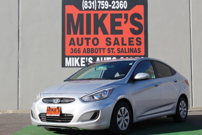 Used 2017 Hyundai Accent SE Sedan Manual in Salinas, CA