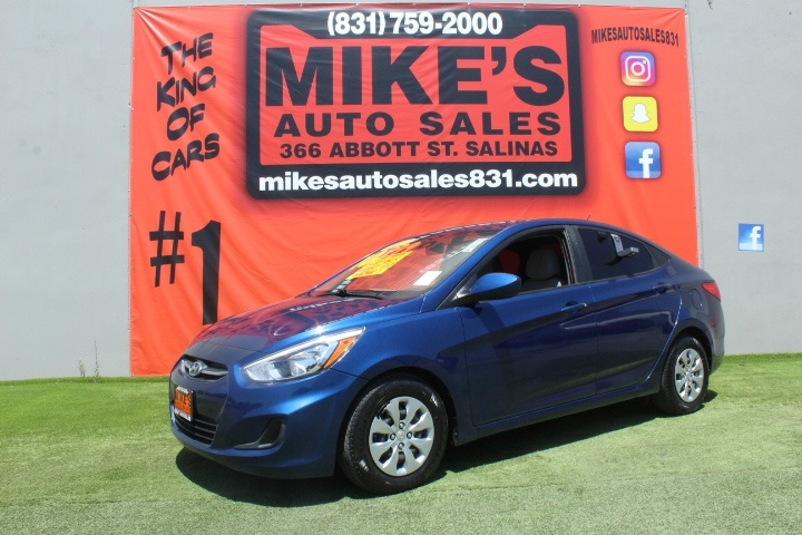 Used 2017 Hyundai Accent SE Sedan Manual in Salinas, CA