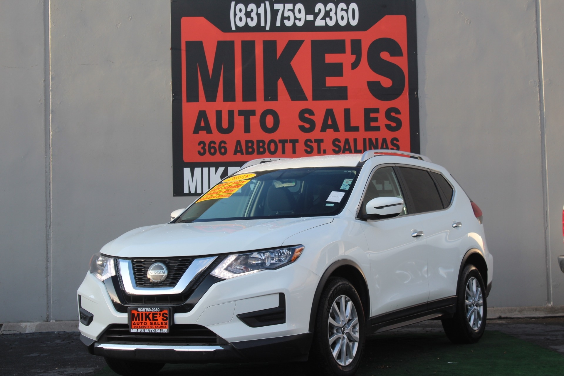 2018 Nissan Rogue FWD S in Salinas, CA