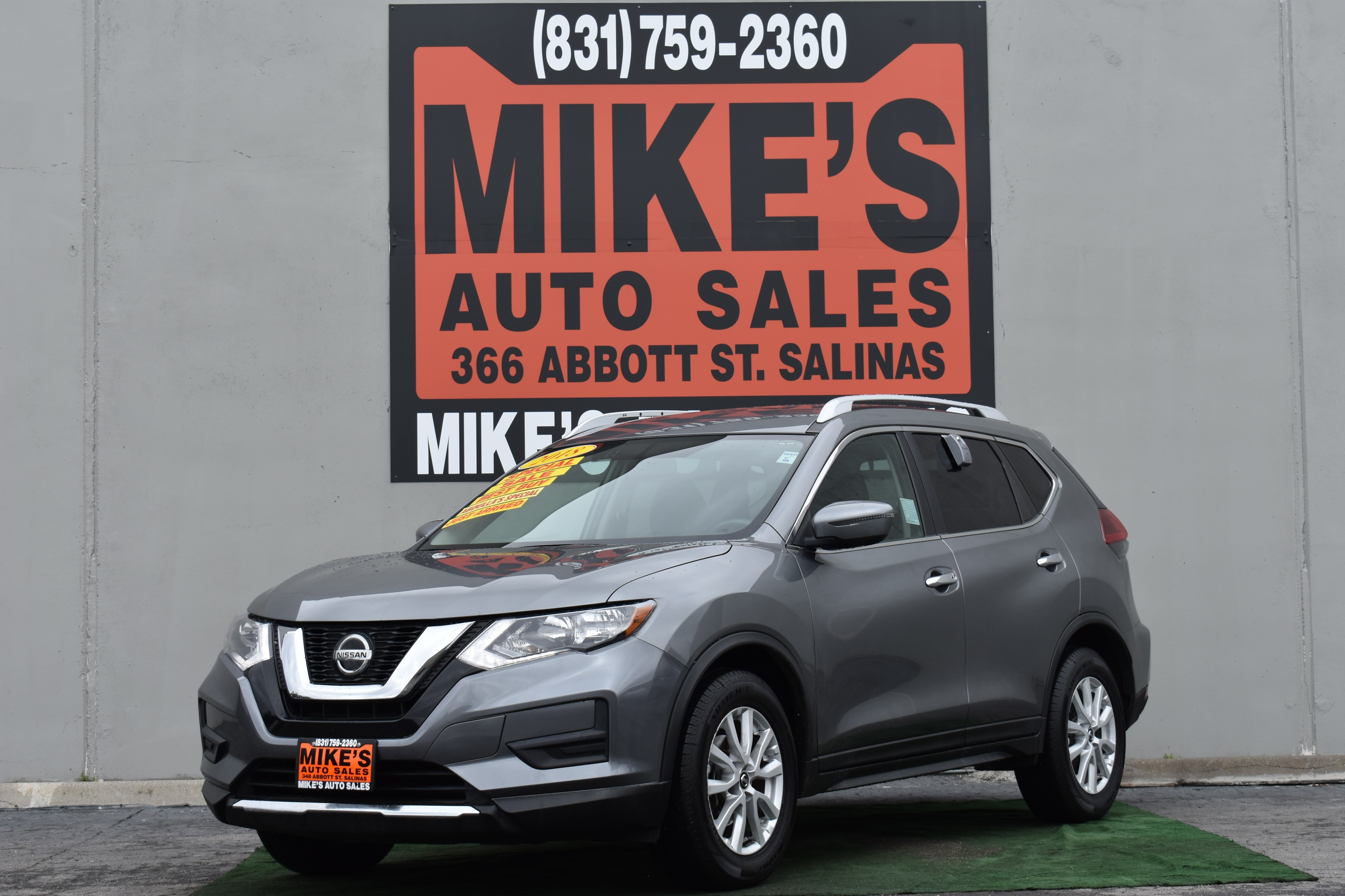 Used 2018 Nissan Rogue FWD S in Salinas, CA