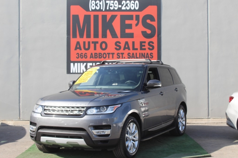 2016 Land Rover Range Rover Sport 4WD 4dr V6 Diesel HSE in Salinas, CA