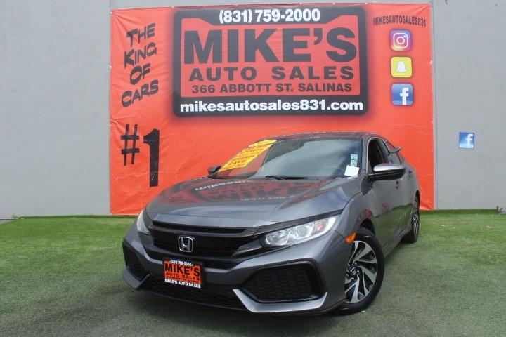 Used 2017 Honda Civic Hatchback LX CVT in Salinas, CA