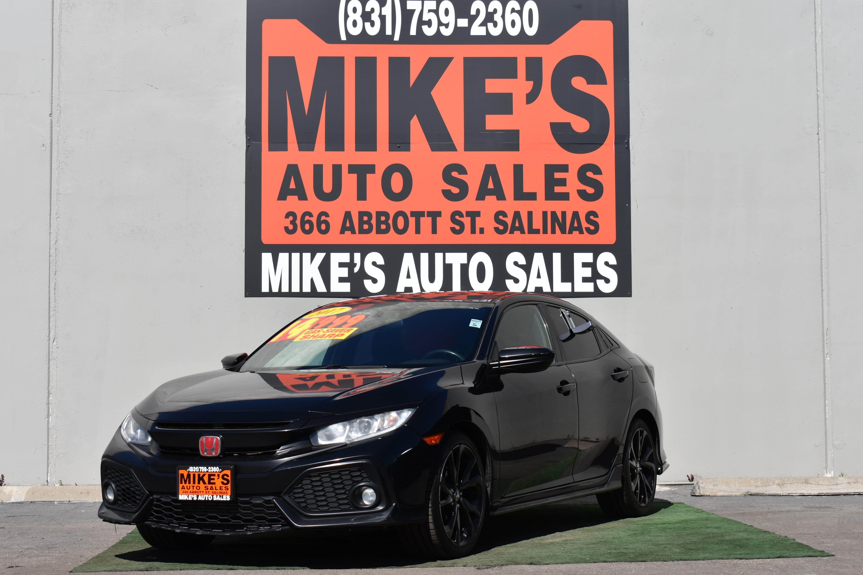 2017 Honda Civic Hatchback Sport CVT in Salinas, CA