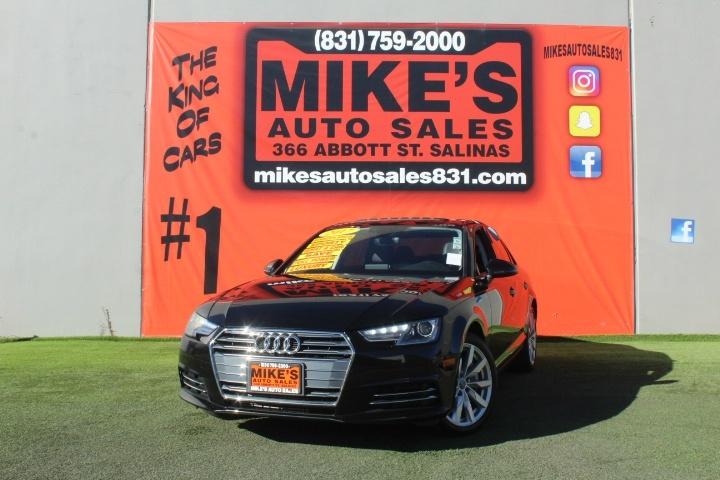 Used 2017 Audi A4 2.0 TFSI Auto Premium FWD in Salinas, CA