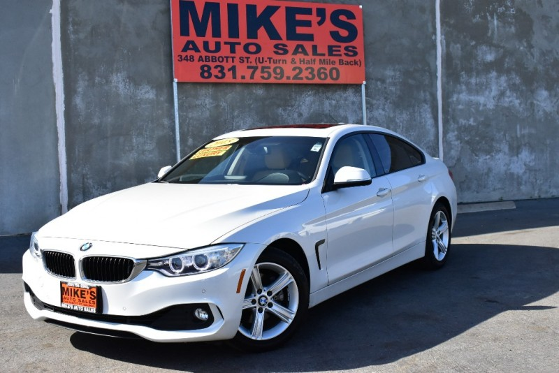 2015 BMW 4 Series 4dr Sdn 428i RWD Gran Coupe SULEV in Salinas, CA