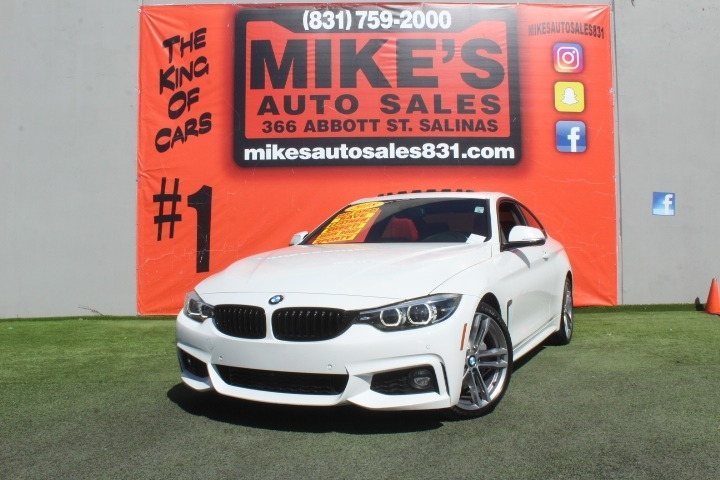 Used 2018 BMW 4 Series 430i Coupe in Salinas, CA