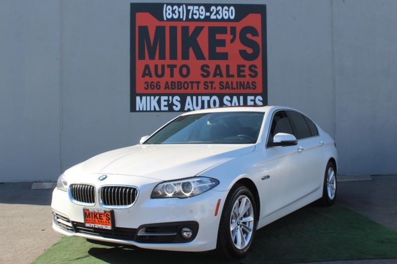 2016 BMW 5-Series 4dr Sdn 528i RWD in Salinas, CA