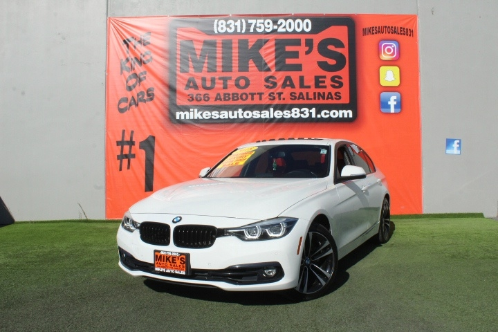 Used 2018 BMW 3-Series 330i Sedan in Salinas, CA
