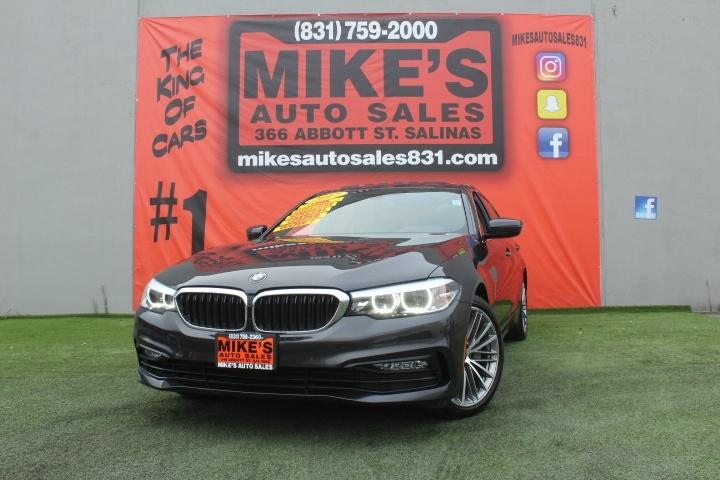 Used 2017 BMW 5-Series 530i Sedan in Salinas, CA