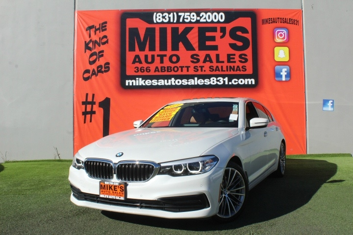 Used 2019 BMW 5-Series 530i Sedan in Salinas, CA