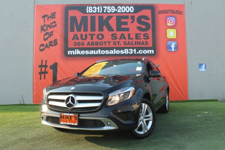 Used 2017 Mercedes-Benz GLA GLA 250 SUV in Salinas, CA