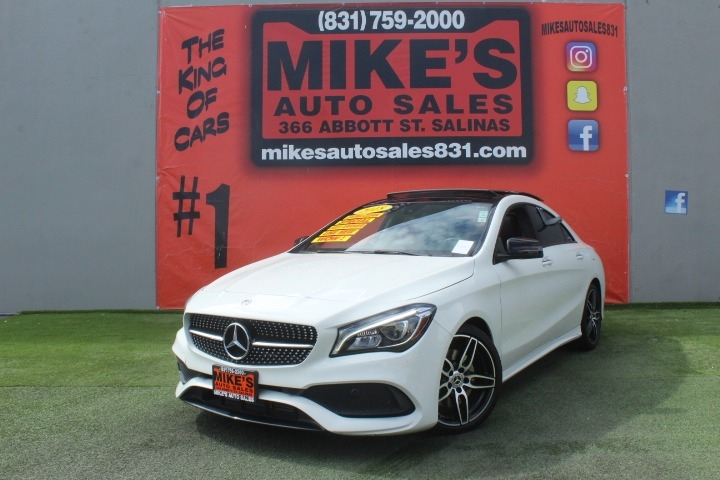 Used 2018 Mercedes-Benz CLA CLA 250 Coupe in Salinas, CA