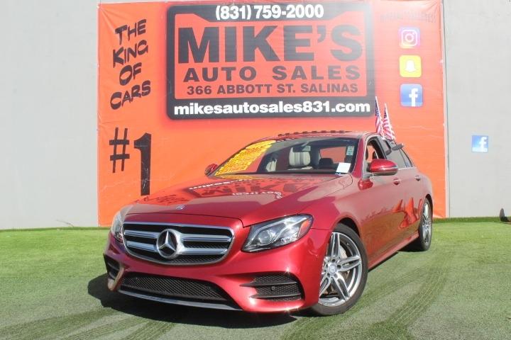 Used 2017 Mercedes-Benz E-Class E 300 Luxury RWD Sedan in Salinas, CA