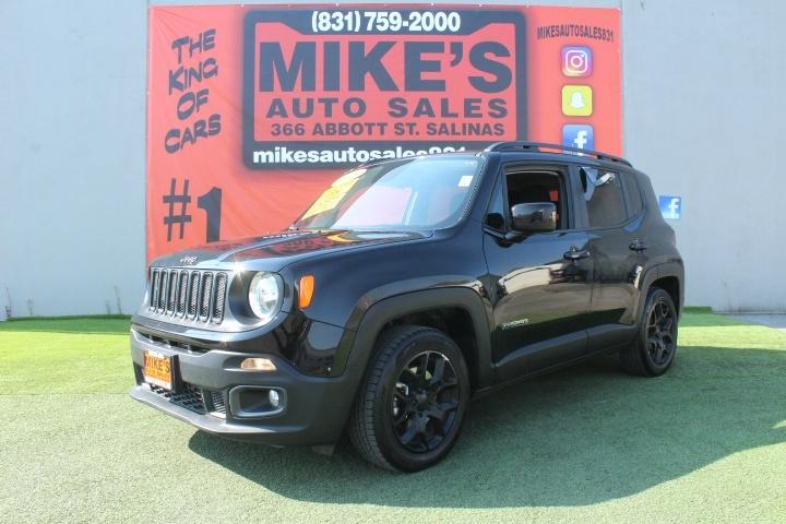 Used 2018 Jeep Renegade Latitude FWD in Salinas, CA