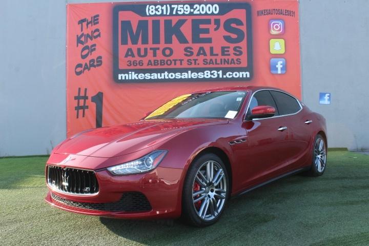Used 2017 Maserati Ghibli S 3.0L in Salinas, CA
