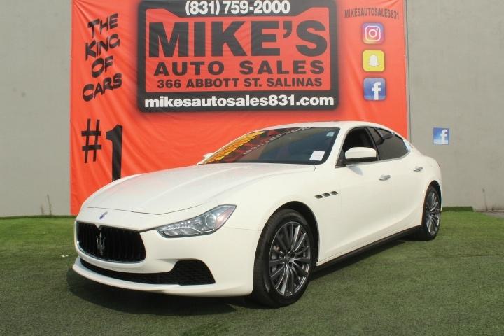 Used 2017 Maserati Ghibli 3.0L in Salinas, CA