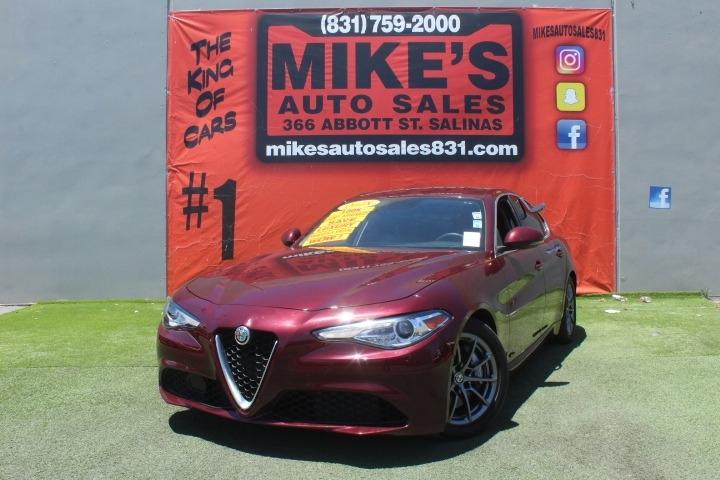 Used 2017 Alfa Romeo Giulia RWD in Salinas, CA