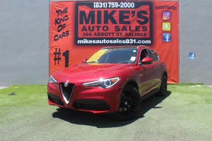 Used 2018 Alfa Romeo Stelvio Ti AWD in Salinas, CA