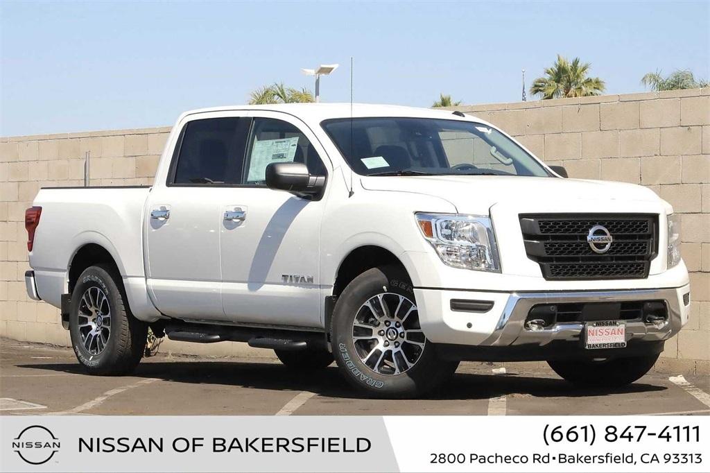 New 2021 Nissan Titan SV in Bakersfield, CA