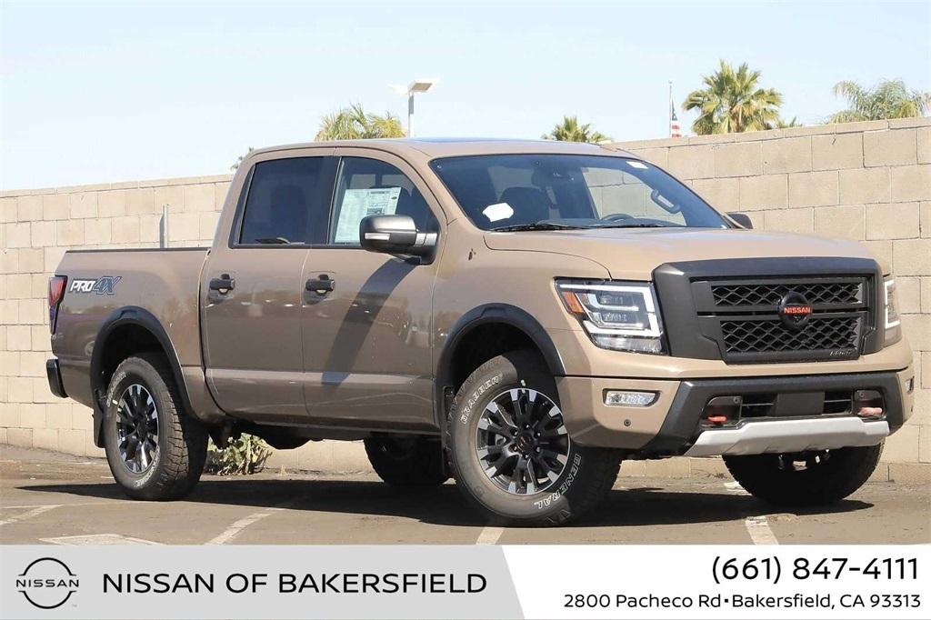 New 2021 Nissan Titan PRO-4X in Bakersfield, CA