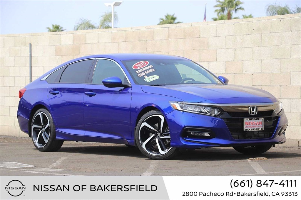 Used 2018 Honda Accord Sport in Bakersfield, CA
