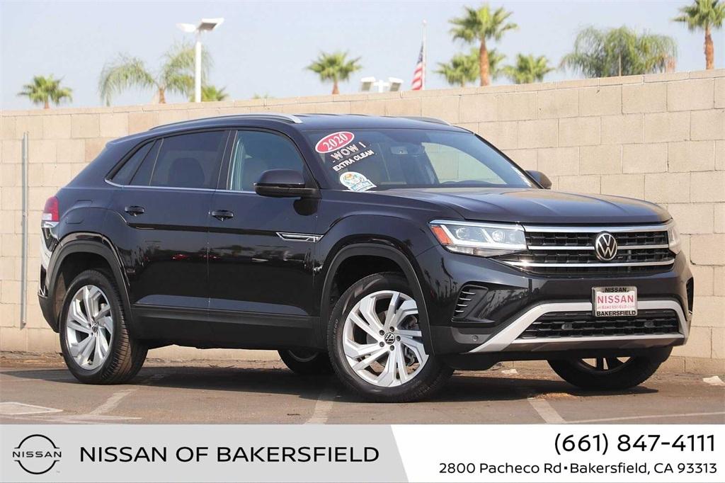 Used 2020 Volkswagen Atlas Cross Sport 3.6L V6 SE w/Technology in Bakersfield, CA