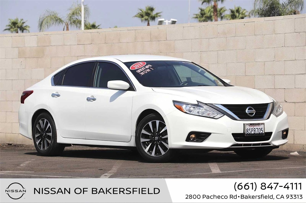 Used 2018 Nissan Altima 2.5 SV in Bakersfield, CA