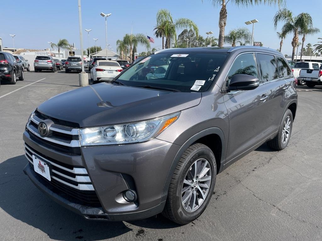Used 2018 Toyota Highlander XLE in Bakersfield, CA