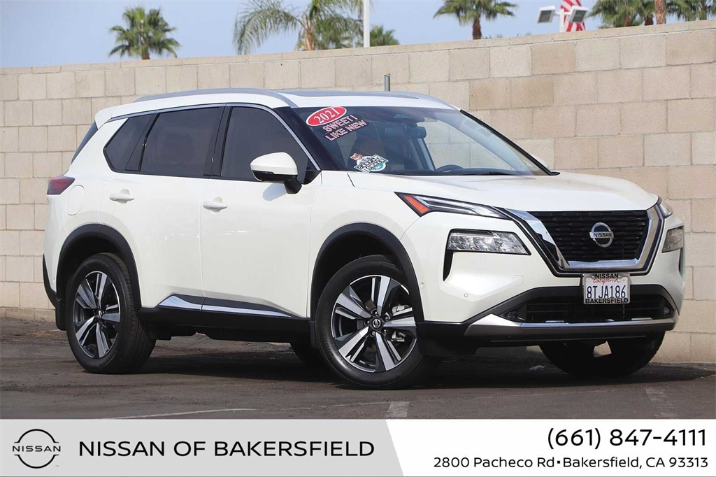 Used 2021 Nissan Rogue Platinum in Bakersfield, CA