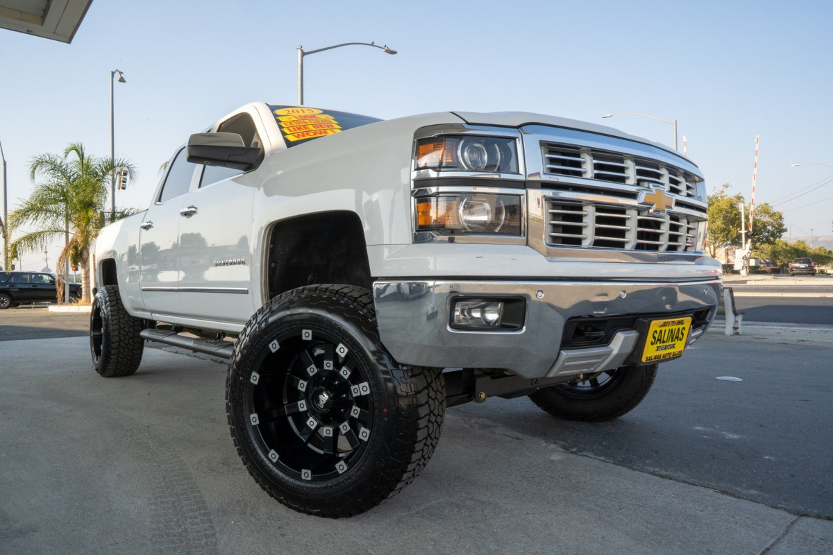 Used 2015 CHEVROLET SILVERADO  in Gilroy, CA