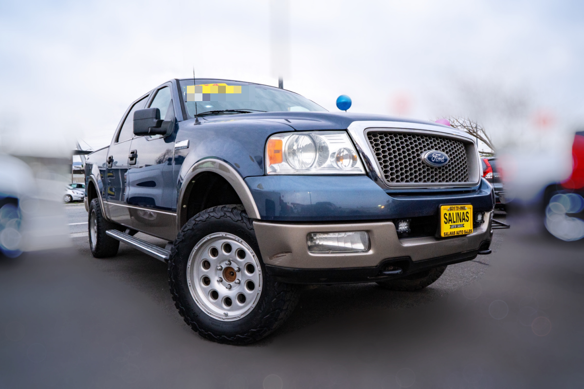 Used 2005 FORD F-150 Lariat  in Gilroy, CA
