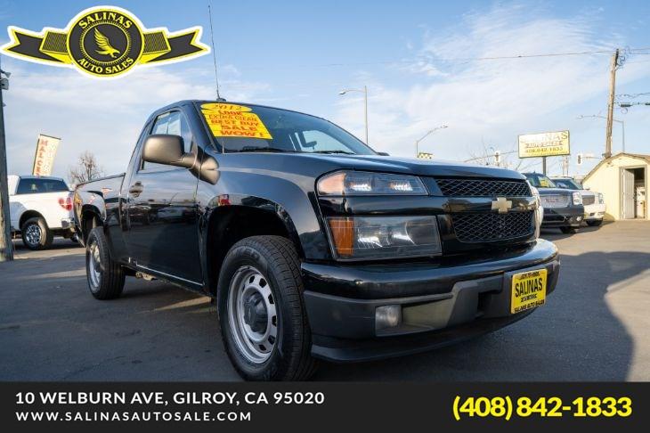 2012 Chevrolet Colorado Work Truck in Gilroy, CA