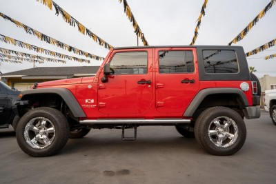 Used 2008 JEEP Wrangler Unlimited X  in Gilroy, CA