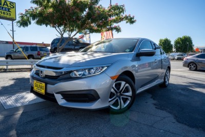 Used 2018 HONDA Civic LX  in Gilroy, CA