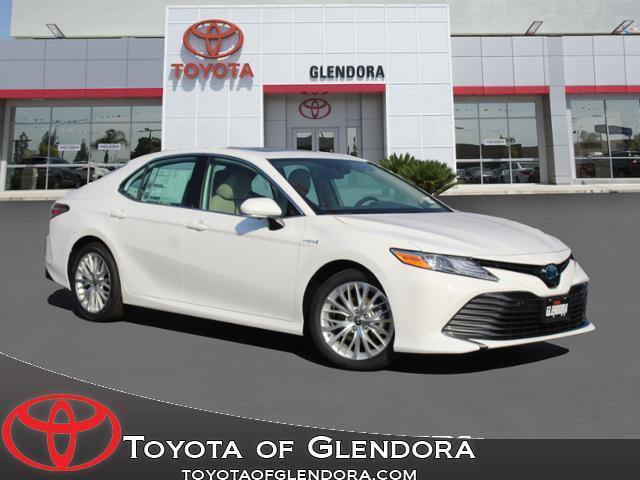 New 2020 Toyota Camry Hybrid XLE in Glendora, CA