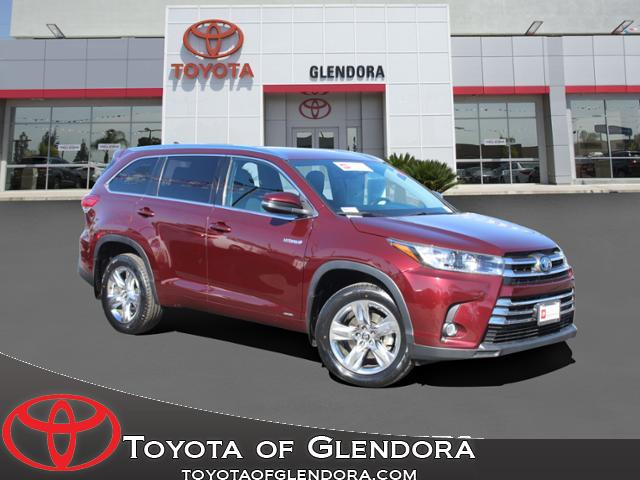 Used 2018 Toyota Highlander Hybrid Limited in Glendora, CA
