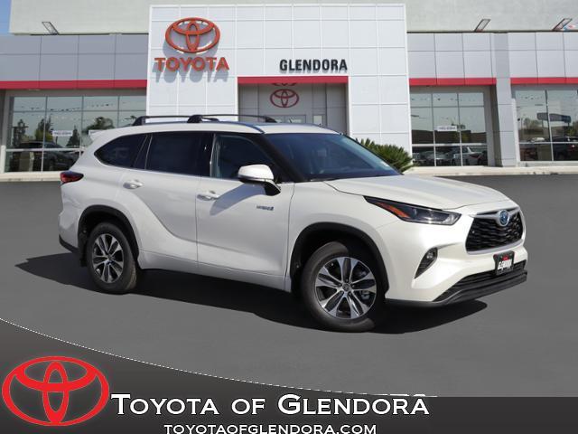 New 2021 Toyota Highlander Hybrid XLE in Glendora, CA