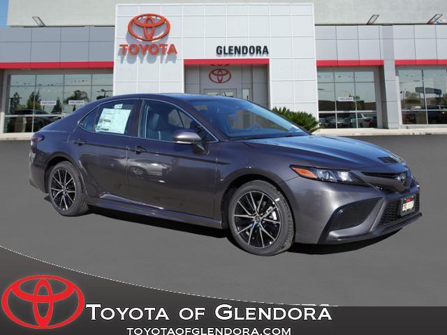 New 2021 Toyota Camry SE Nightshade in Glendora, CA