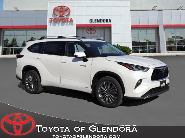 New 2021 Toyota Highlander Hybrid Platinum in Glendora, CA