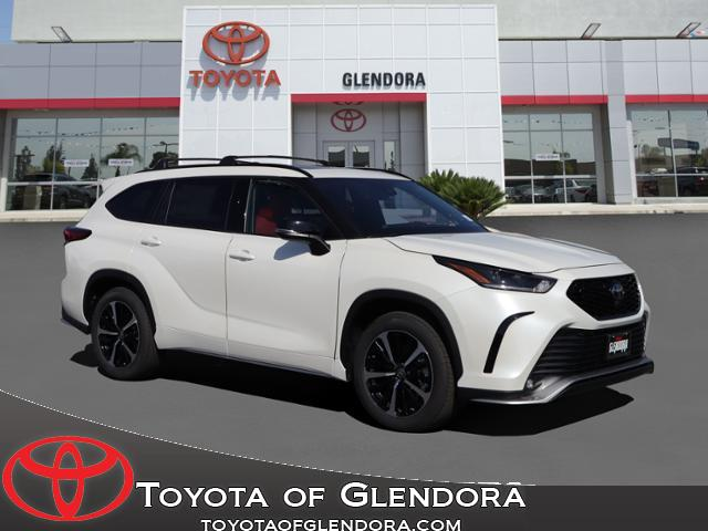 New 2021 Toyota Highlander XSE in Glendora, CA