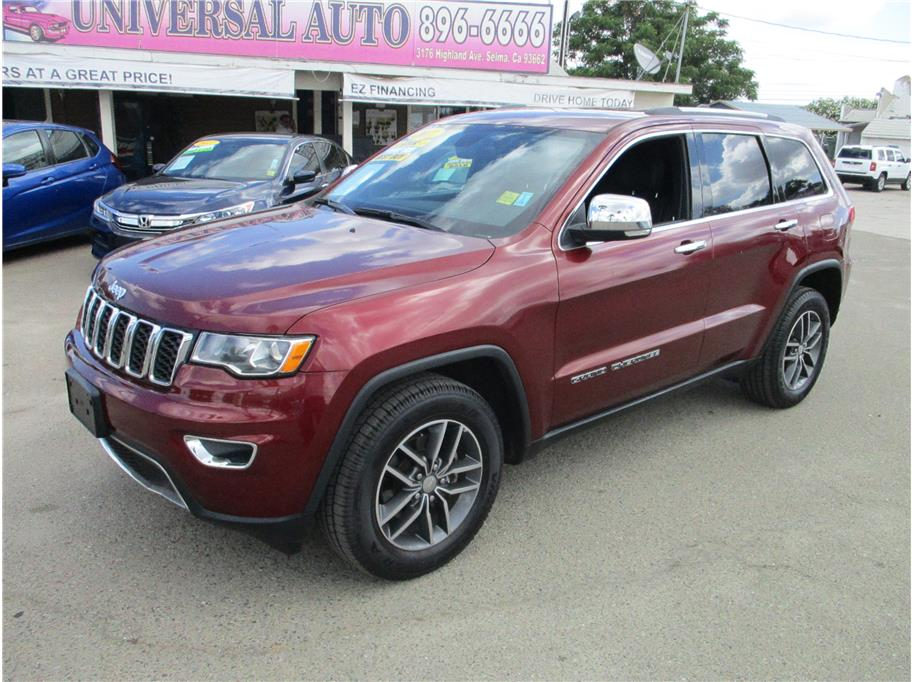 2017 Jeep Grand Cherokee Limited Sport Utility 4D in Selma, CA