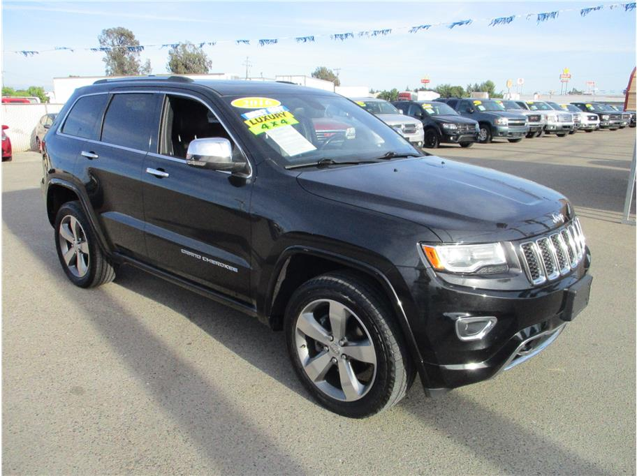 2015 Jeep Grand Cherokee Overland Sport Utility 4D in Selma, CA
