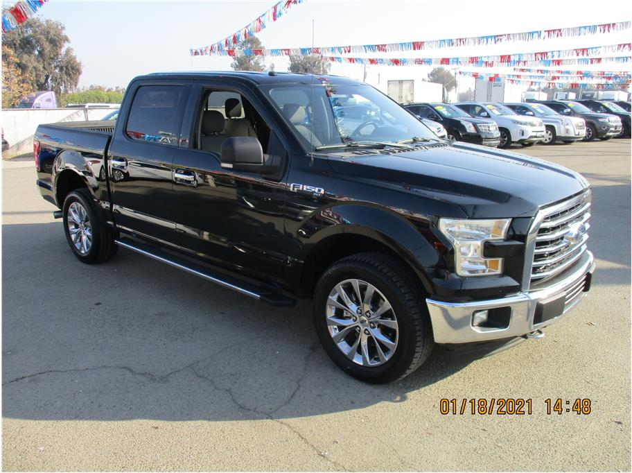 Used 2017 Ford F150 SuperCrew Cab XLT Pickup 4D 5 1/2 ft in Selma, CA